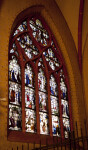 Stained Glass Window at Frankfurt Dom