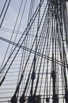 Standing Rigging of the USS Constitution
