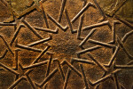 Star Pattern on a Door From the Great Mosque of Cizre