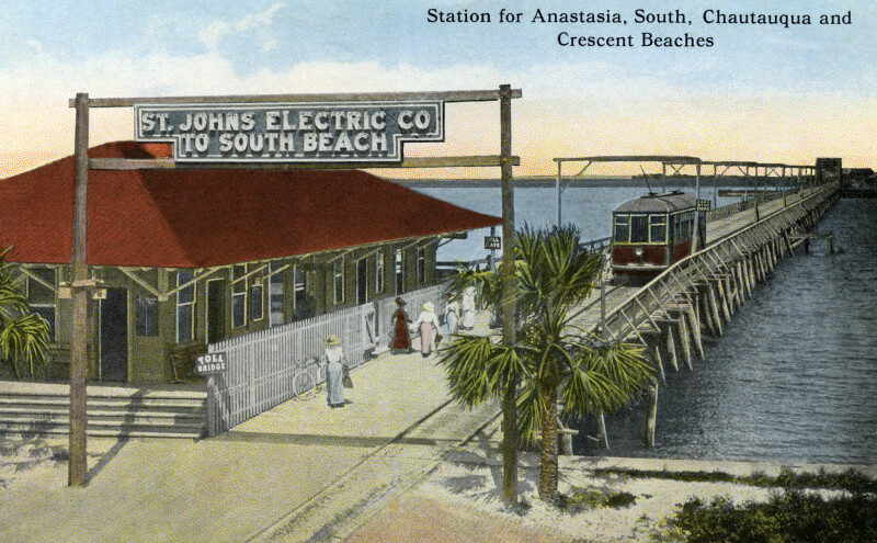 Station for Anastasia, South, Chautauqua, and Crescent Beaches