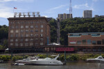 Station Square on Monongahela River
