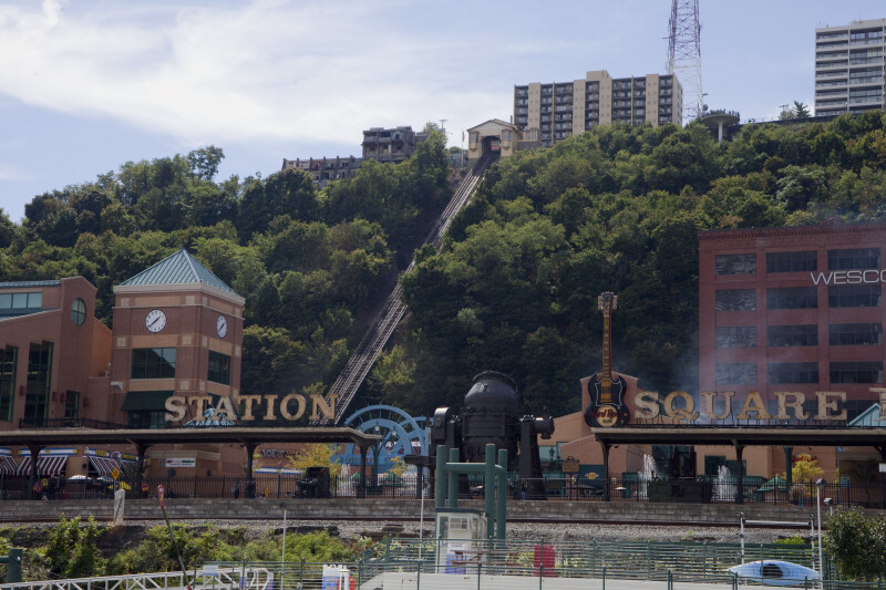 Station Square on the Monongahela River