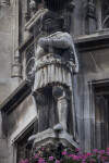 Statue of a Knight at New Town Hall