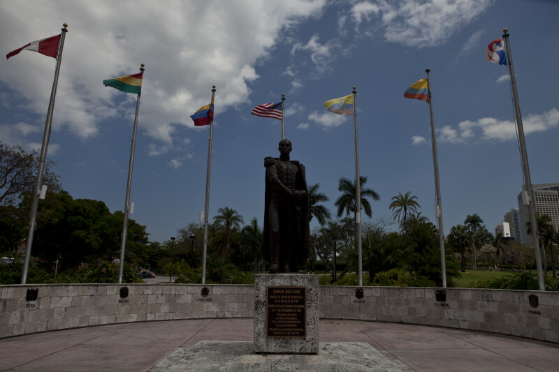 Statue of Simon Bolivar