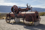 Steam Engine at Castolon