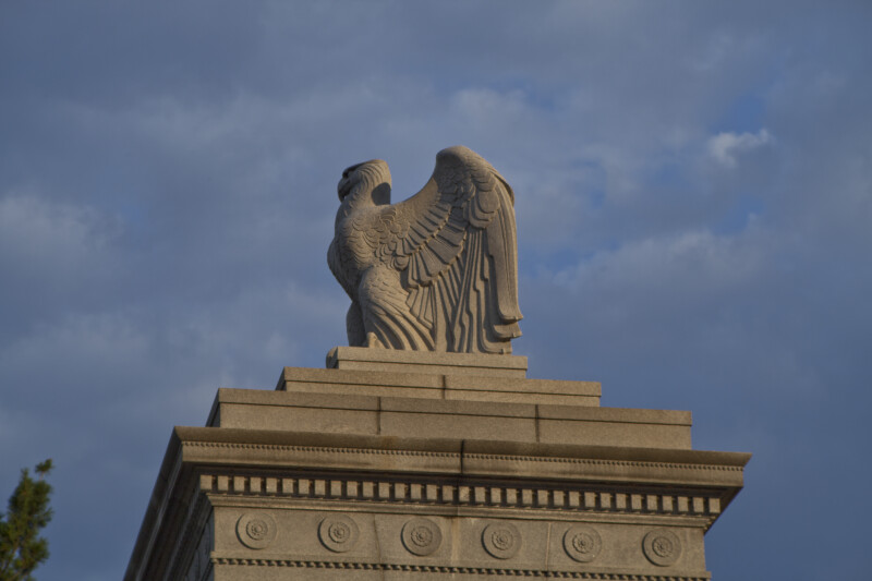 Stone Eagle from Side