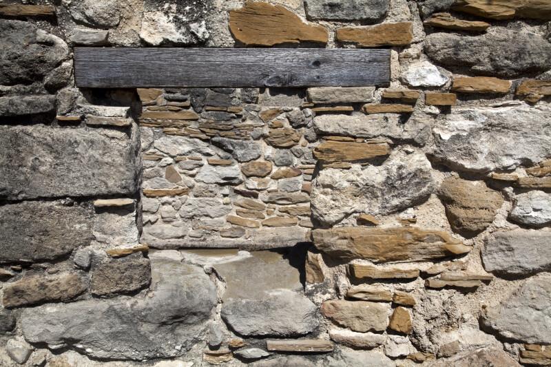 Stone through Stone
