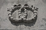 Stone Wreath on the Soldiers and Sailors Monument at Boston Common