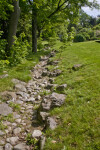 Stones at the Arnold Arboretum of Harvard University