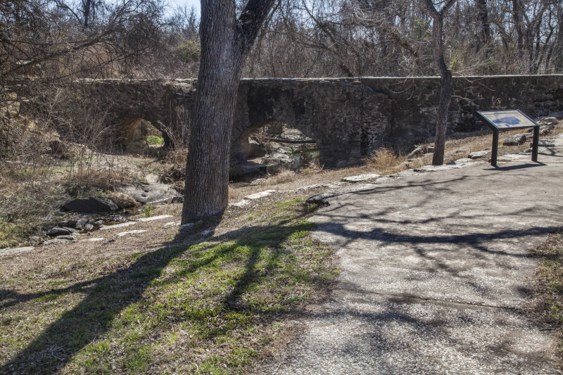Stout Limestone Arches at the Espada Acequia