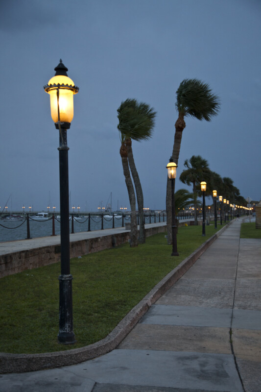 Street Lamps along the Matanzas River