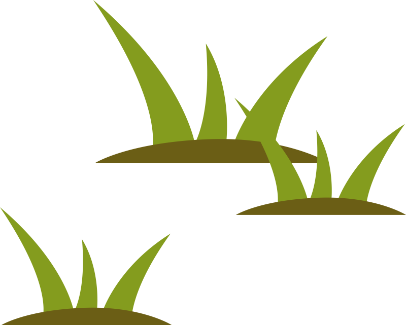 Stylized Wetlands Grass Illustration