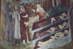 Subiaco, Sacro Speco, Scala Santa, The Three Living and the Three Dead