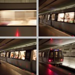 Subway Trains photographs