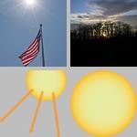 Sun photographs