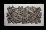 Sunflower Seeds on a White Plate