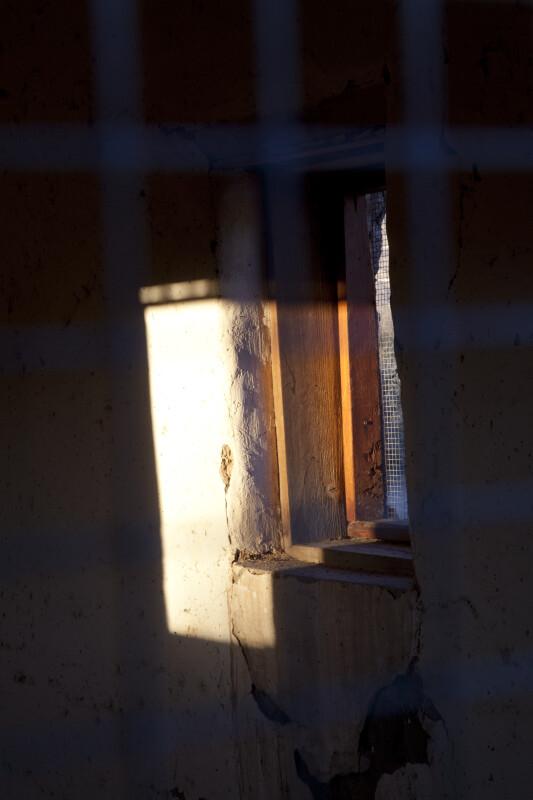 Sunlight Against a Wall in Castolon