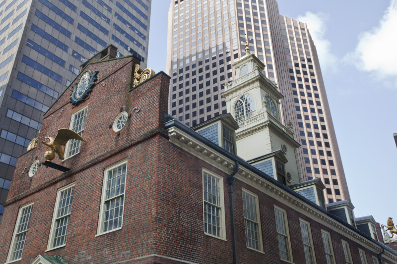 SW Corner, Old State House