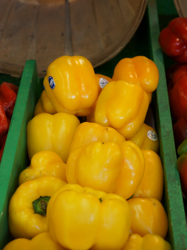 Sweet Yellow Peppers