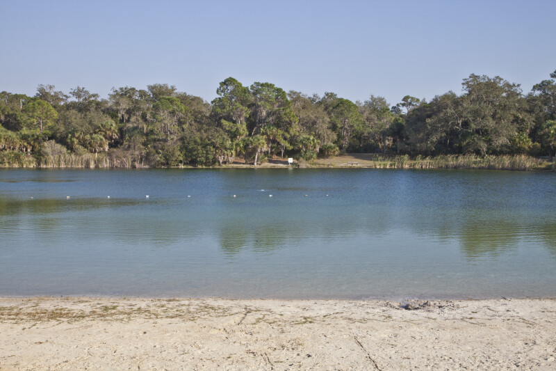 Swimming Area at Lake Osprey