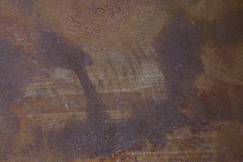 Swirled Concrete Floor