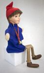 Switzerland Hand Puppet in Sitting Position (Three Quarter View)