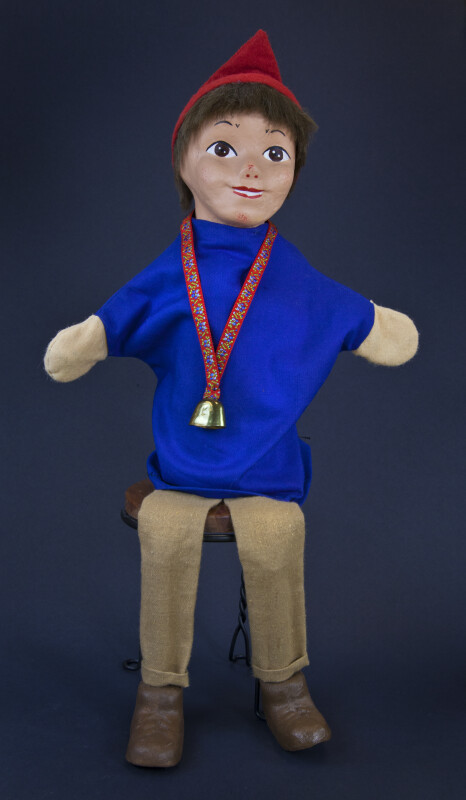 Switzerland Handcrafted Puppet Made from Cloth (Full View)