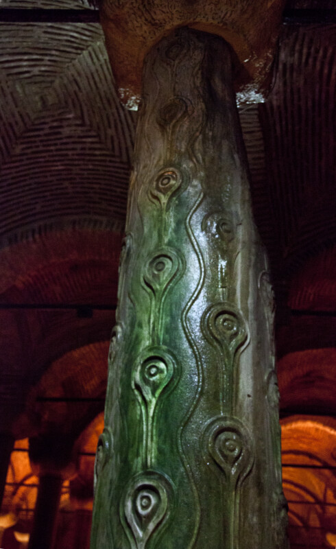 Teardrop Column at the Basilica Cistern