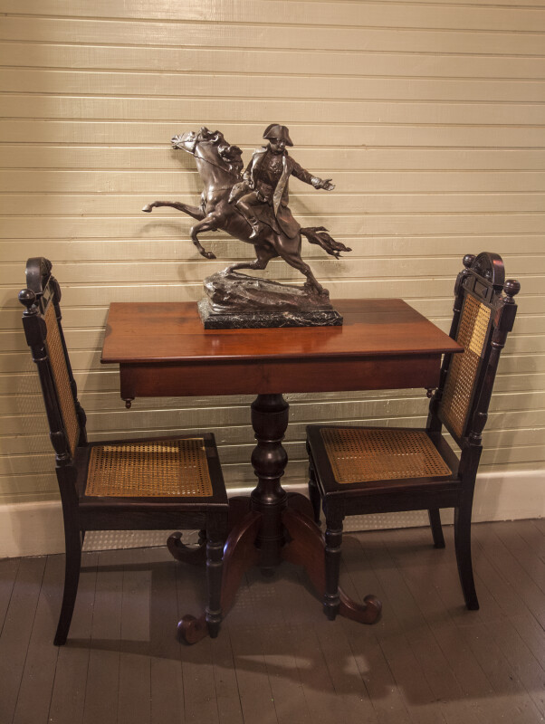 Table with Equestrian Statue of Napoleon