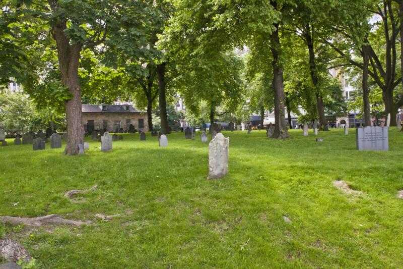 Tablets in the Central Burying Ground