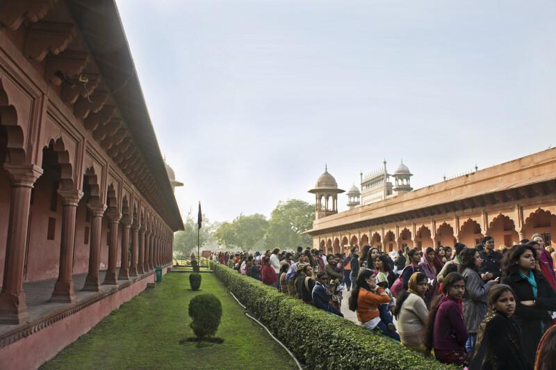Taj Mahal Grounds