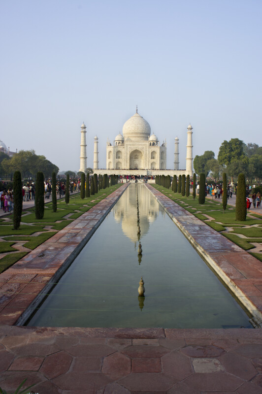 Taj Mahal in the Water