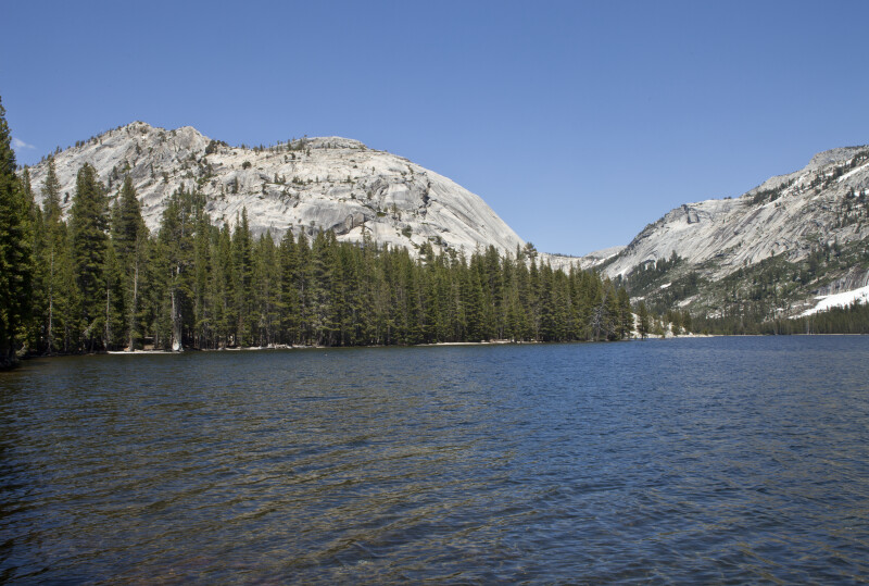 Tenaya Lake is Surrounded by Mountains