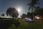Tents Under the Moon