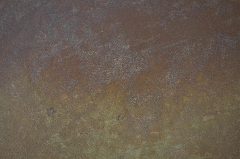 Terra-Cotta to Yellow Ochre Gradated Floor