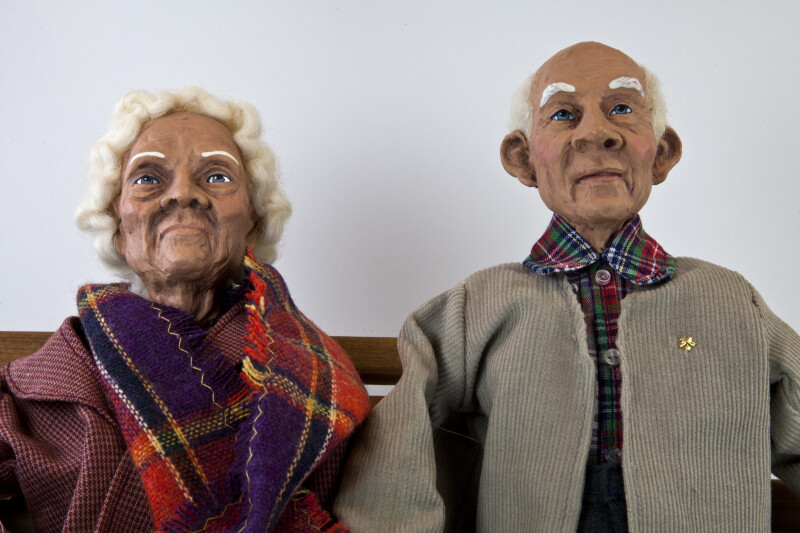 Texas Elderly Daddy Long Legs Couple Called Sam And Grace