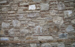 Textured Wall in Kusadasi, Turkey