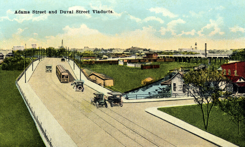 The Adams Street and Duval Street Viaducts