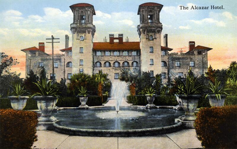 The Alcazar Hotel, from the Park