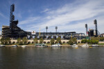 The Allegheny River and PNC Park
