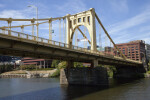 The Andy Warhol Bridge in Pittsburgh