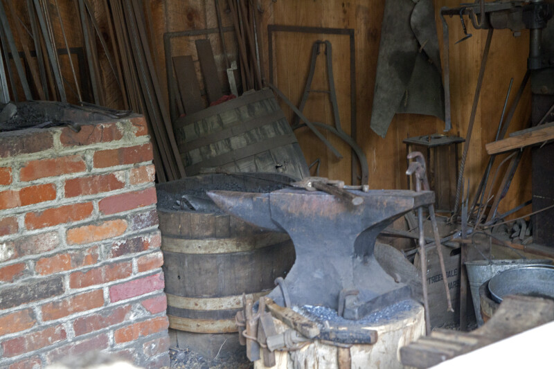 The Anvil in the Blacksmith's Shop