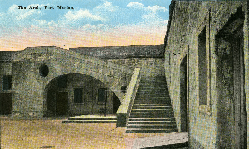 The Arch at Fort Marion