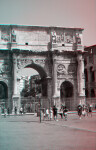 The Arch of Constantine, Eastern Three-Quarters (from the south)