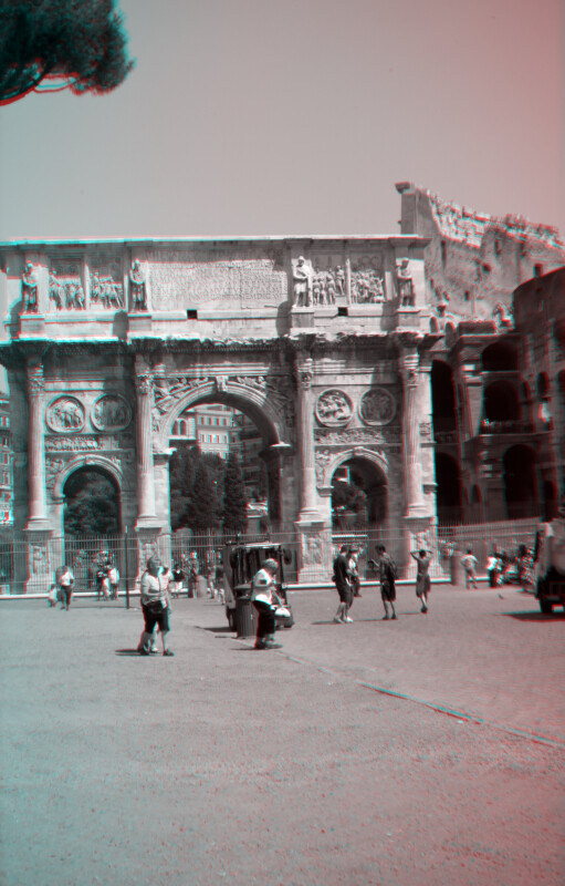 The Arch of Constantine (from the south)