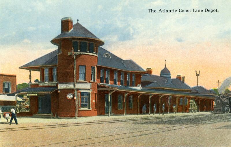 The Atlantic Coast Line Depot