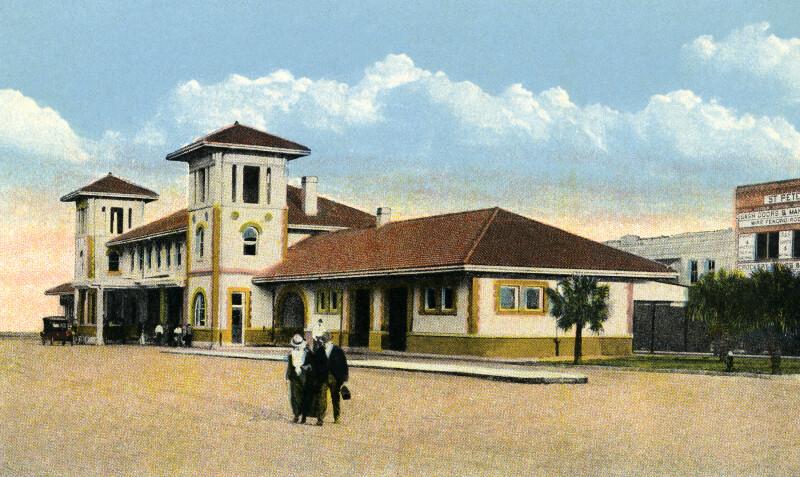 The Atlantic Coast Line Station