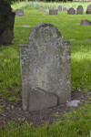 The Back of a Shouldered Tablet Headstone