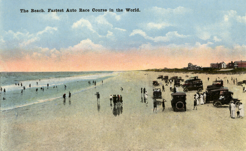 The Beach, Fastest Auto Race Course in the World