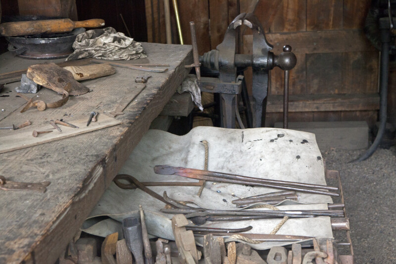 The Blacksmith's Tongs